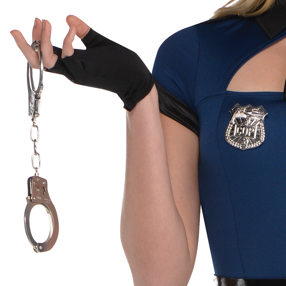 Nav Item for Adult Bad Cop Costume Image #5