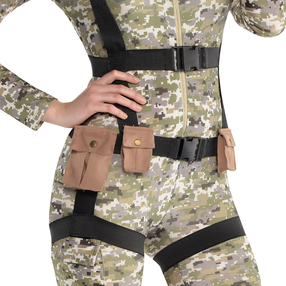Nav Item for Adult Skyfall Suzie Paratrooper Costume Image #3