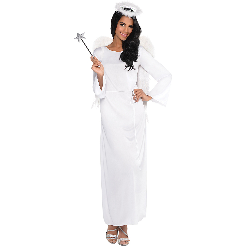 Adult Heaven Sent Angel Costume Image #1