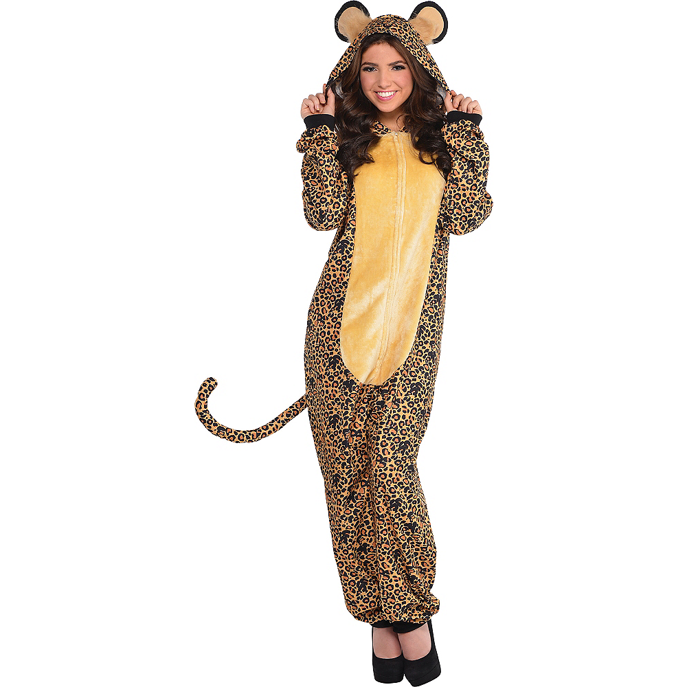 Nav Item for Zipster Leopard One Piece Costume Image #1