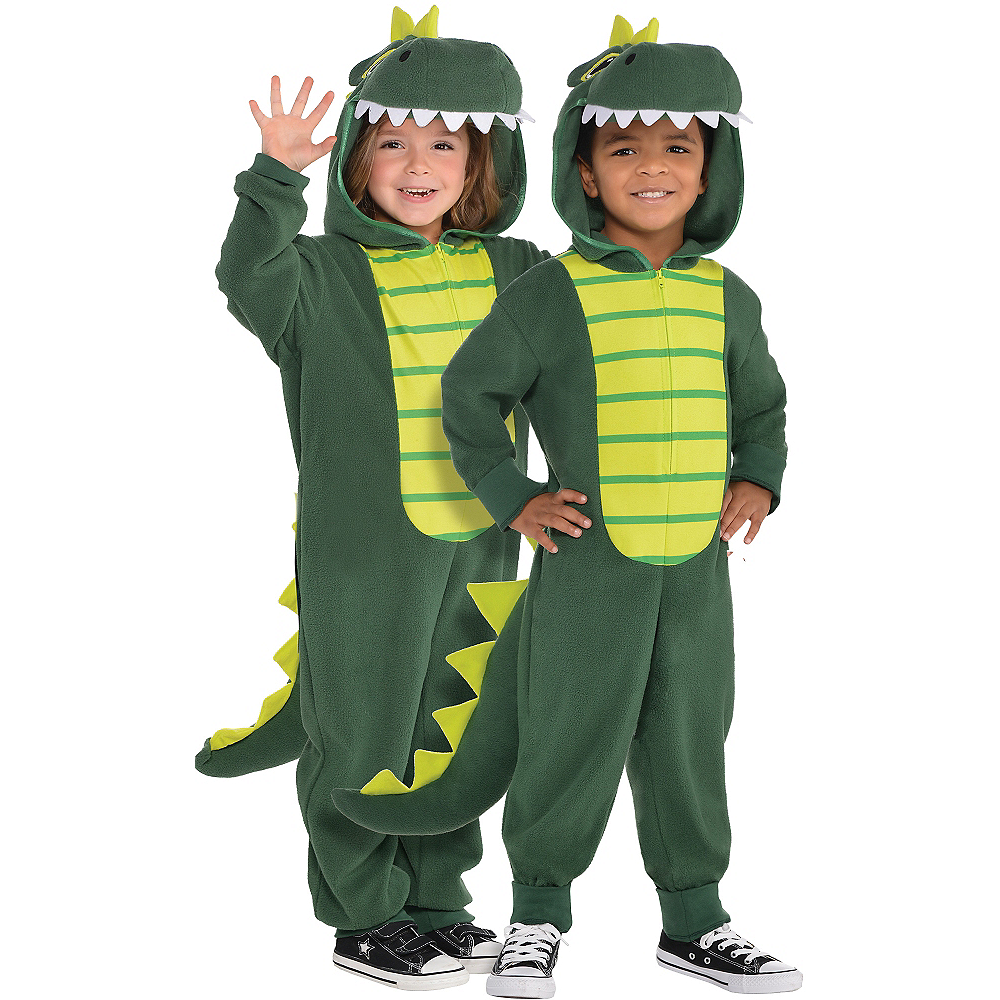 Toddler Zipster Dinosaur One Piece Costume Image #1