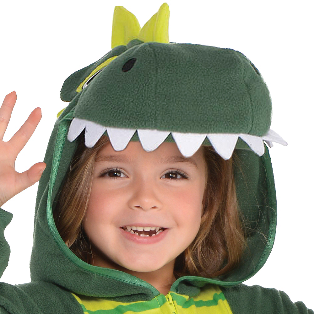 Nav Item for Toddler Zipster Dinosaur One Piece Costume Image #2