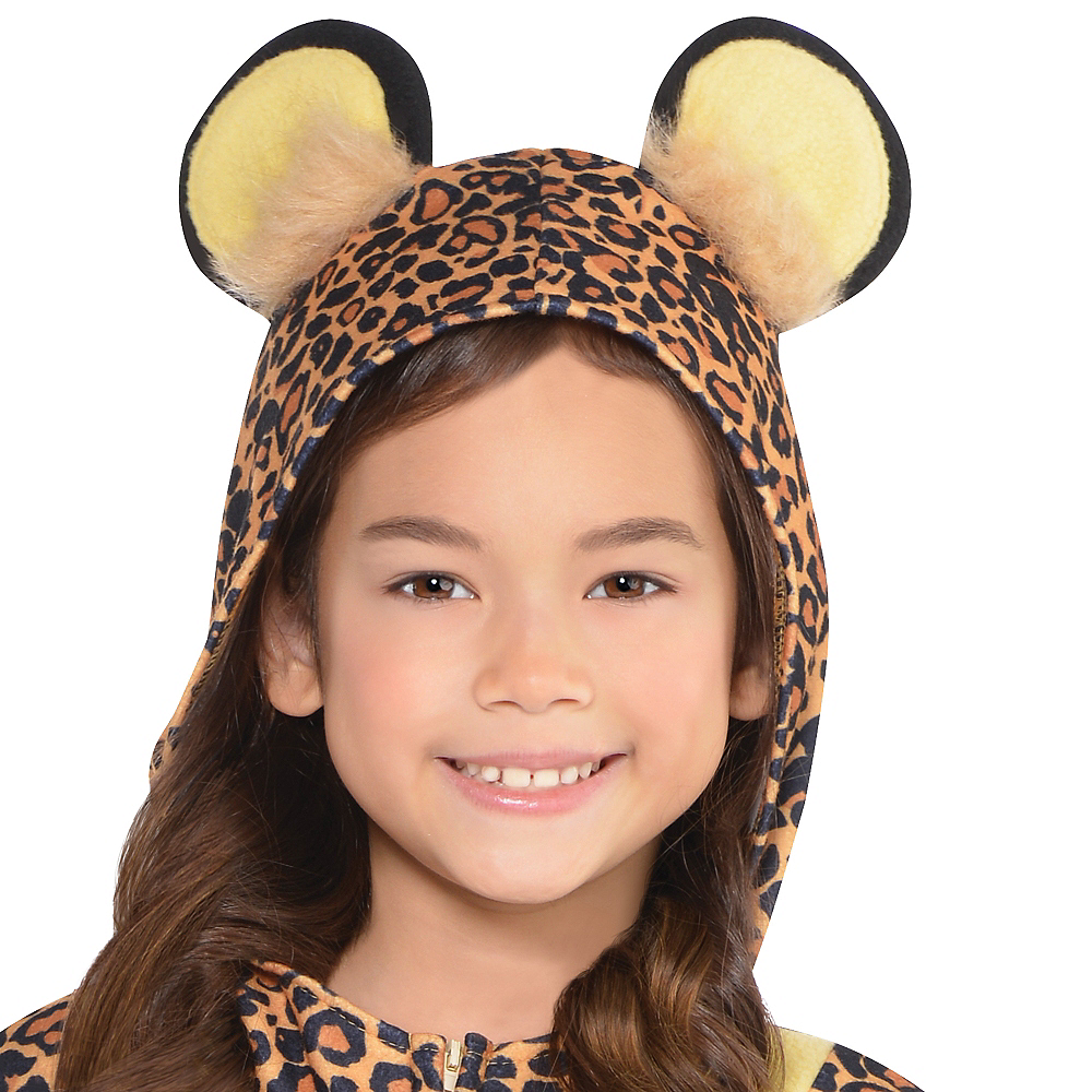 Toddler Girls Zipster Leopard One Piece Costume Image #2