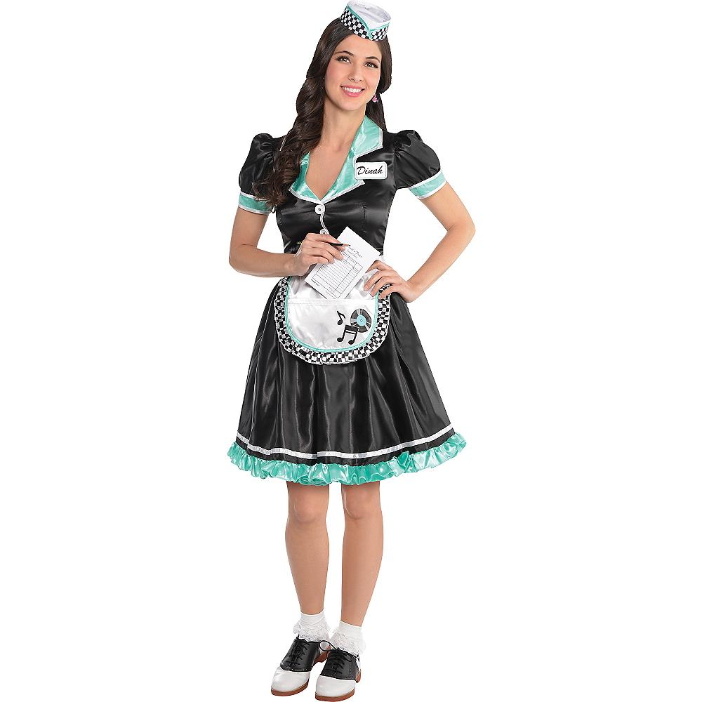 d6167d960c69 Adult Dinah Delight Waitress Costume Image #1 ...