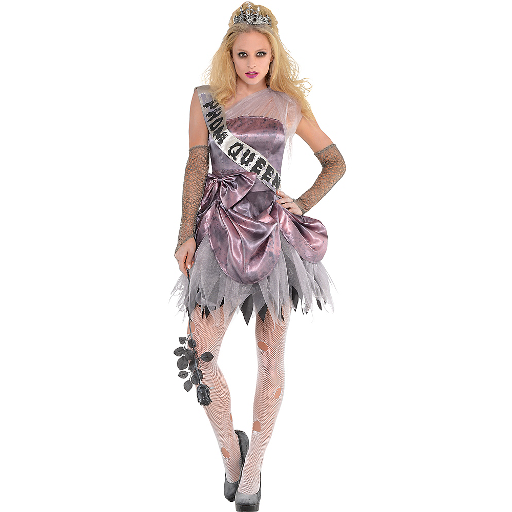 Nav Item for Adult Zombie Prom Queen Costume Image #1