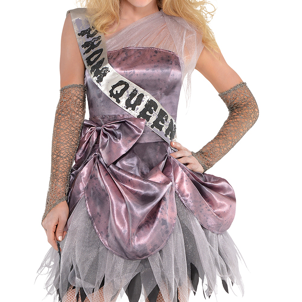 Nav Item for Adult Zombie Prom Queen Costume Image #3