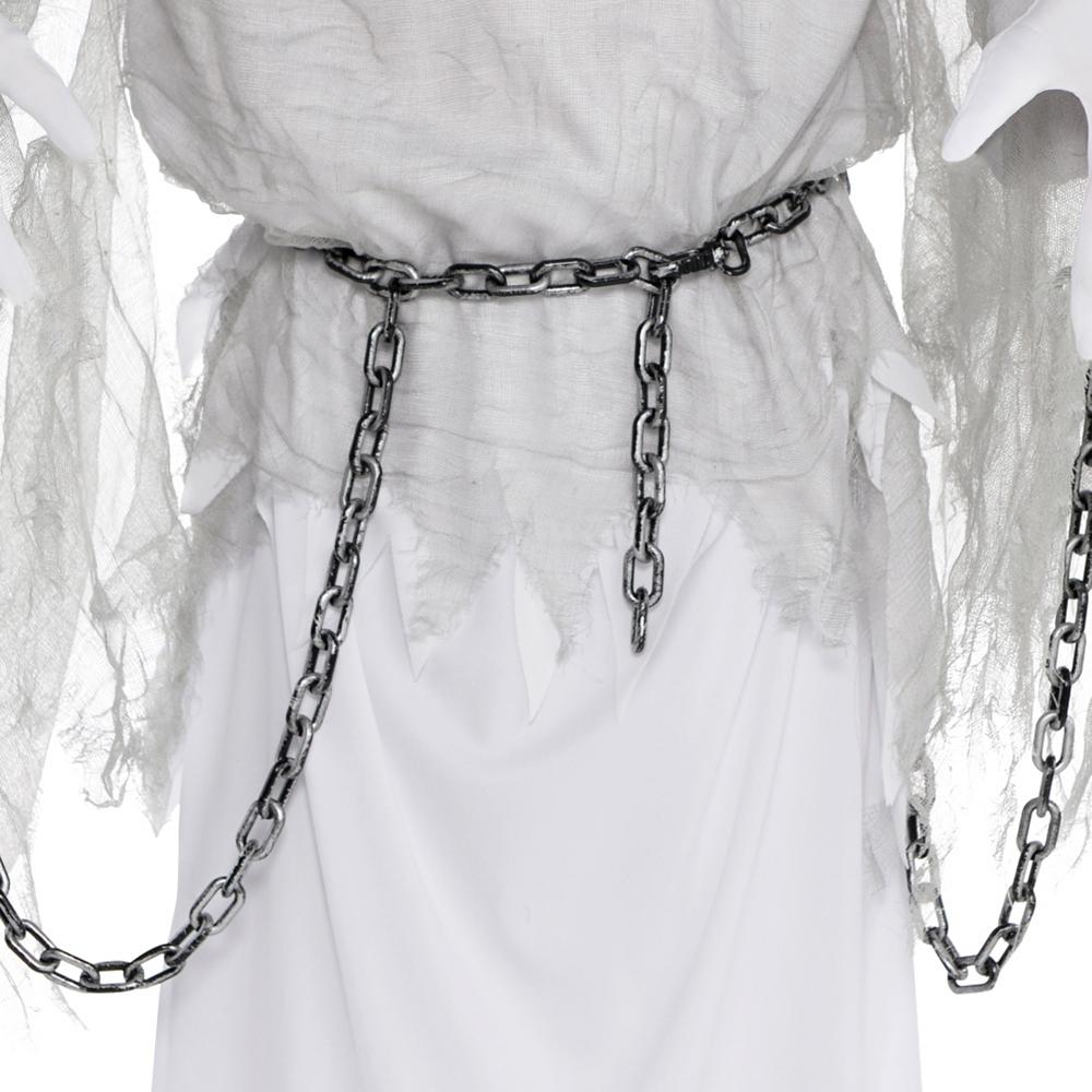 Boys Creepy Spirit Ghost Costume Image #3