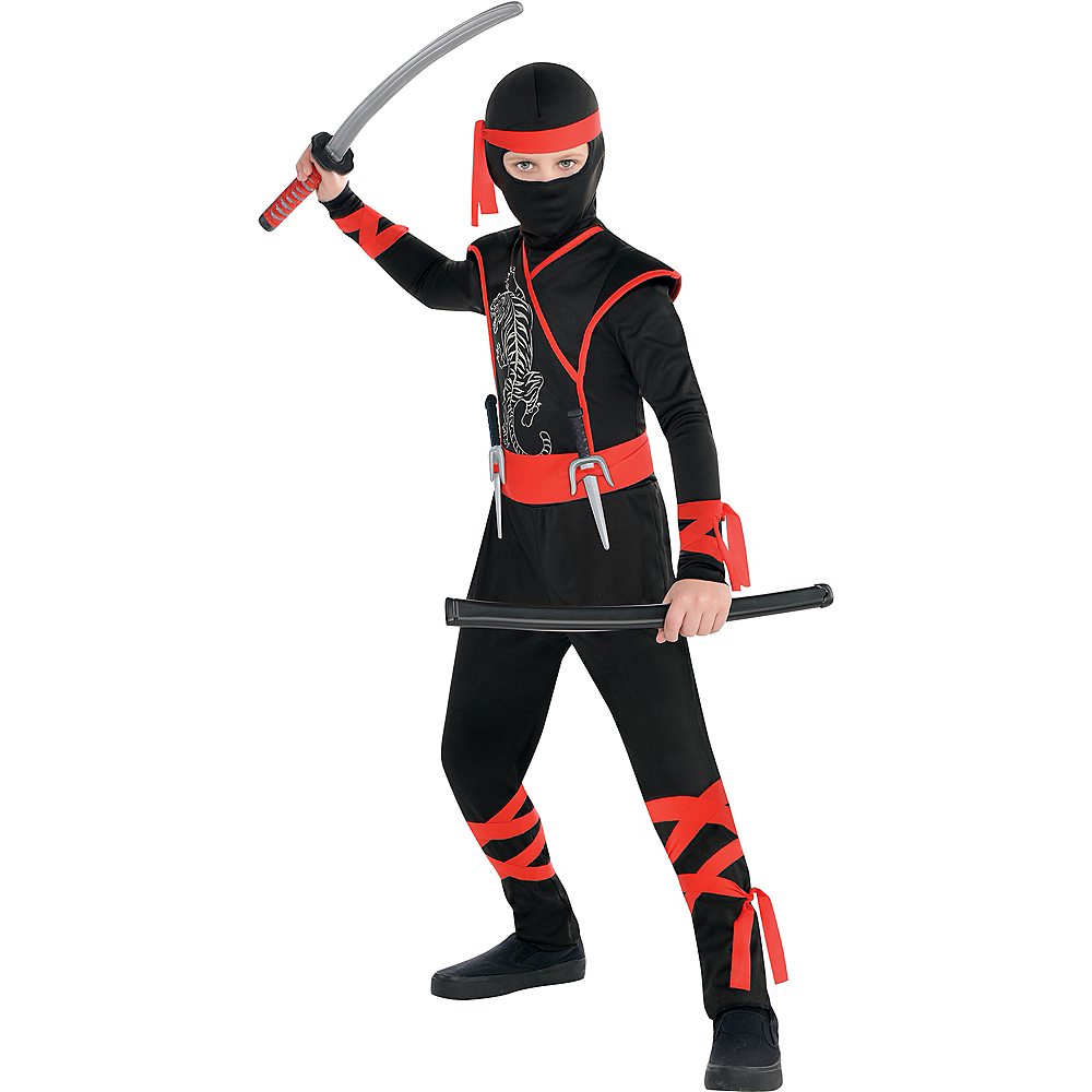 Nav Item for Boys Shadow Ninja Costume Image #1
