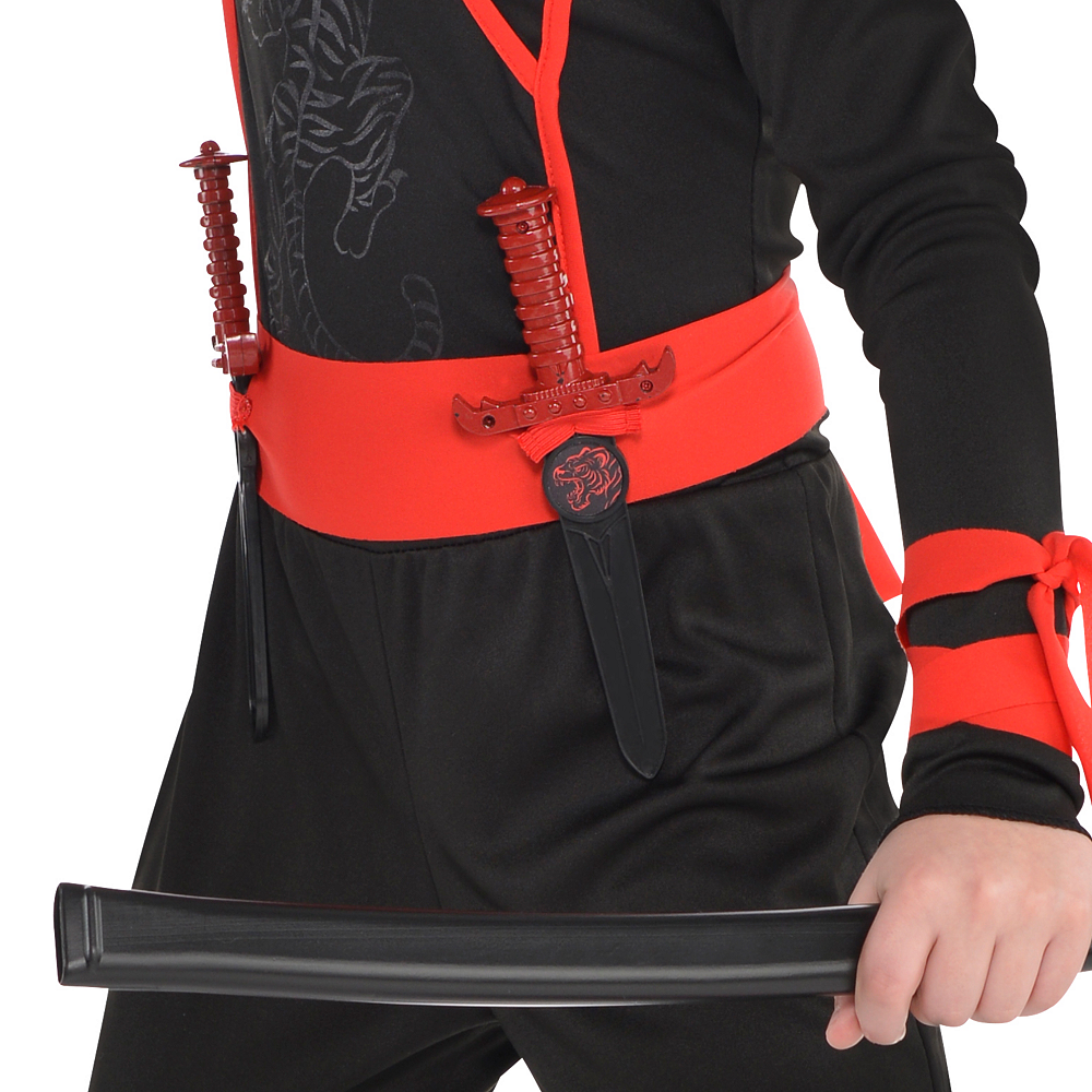Boys Shadow Ninja Costume Image #4