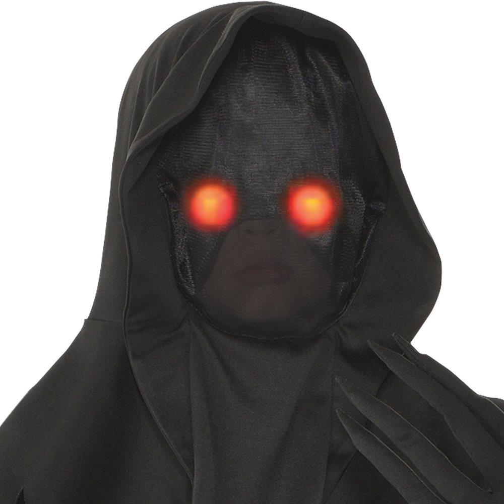 Nav Item for Boys Light-Up Glaring Grim Reaper Costume Image #2