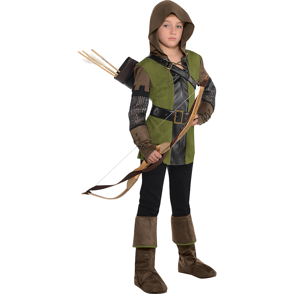 Boys Prince of Thieves Robin Hood Costume Image #1