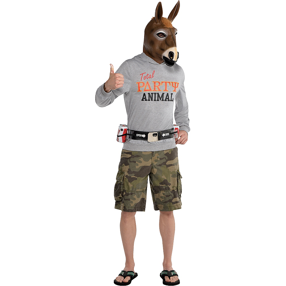Adult Party Animal Costume Image #1