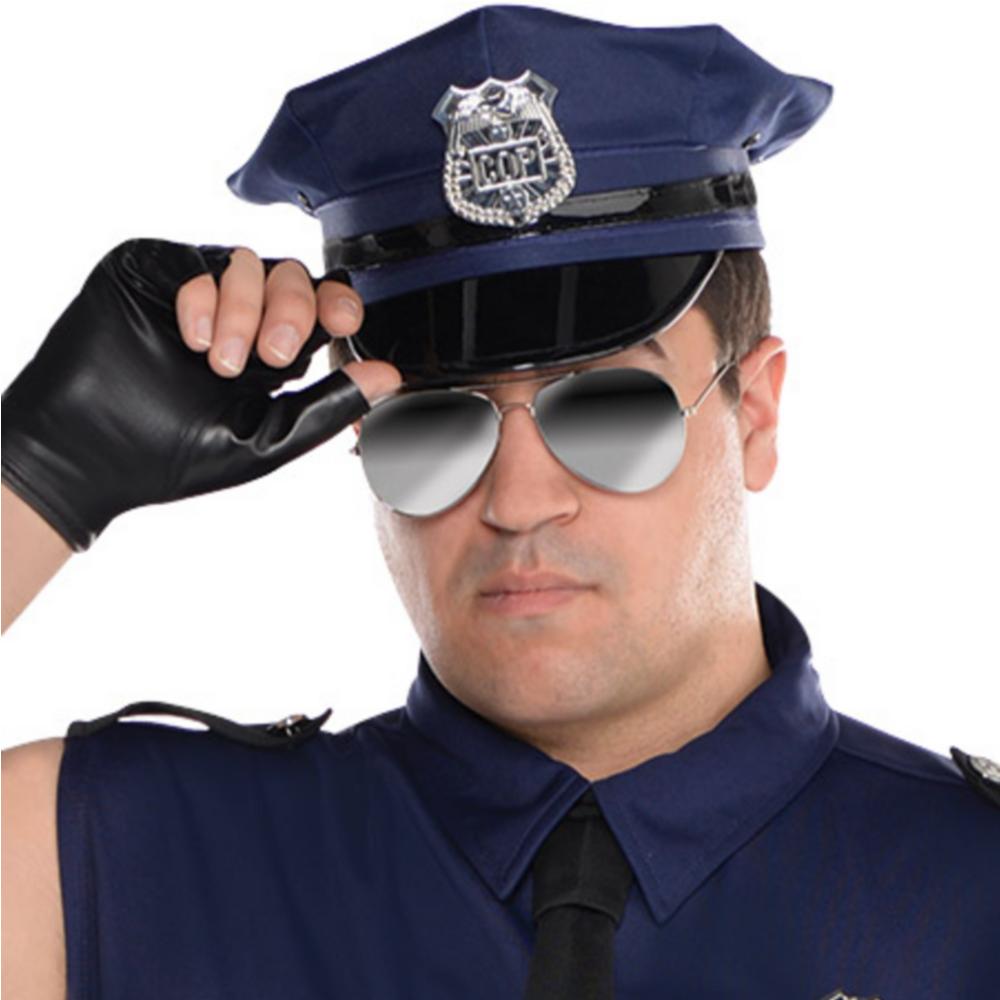 Adult Under Arrest Cop Costume Plus Size Image #2