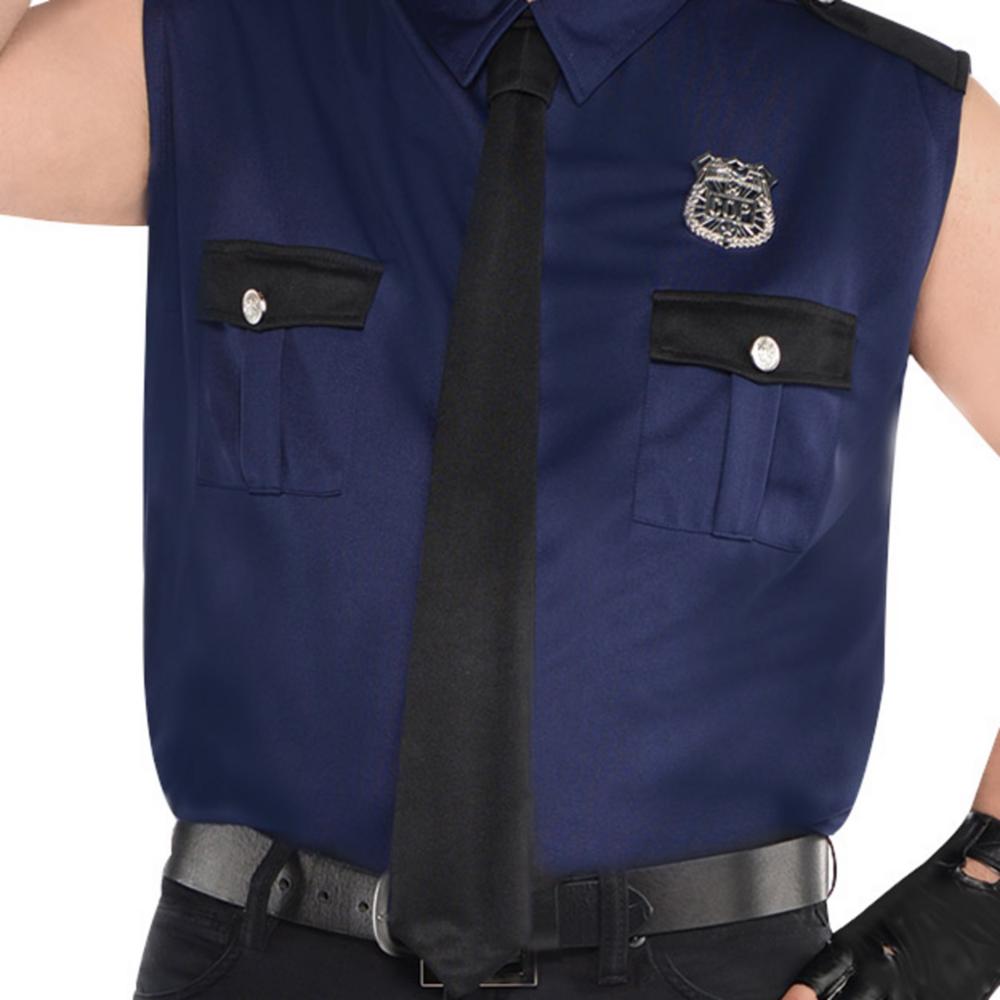 Adult Under Arrest Cop Costume Plus Size Image #3