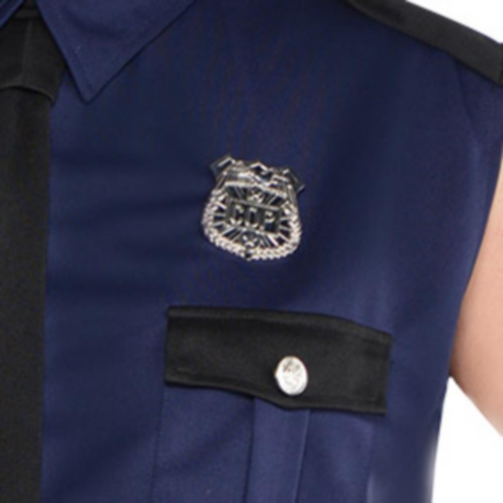Adult Under Arrest Cop Costume Plus Size Image #4