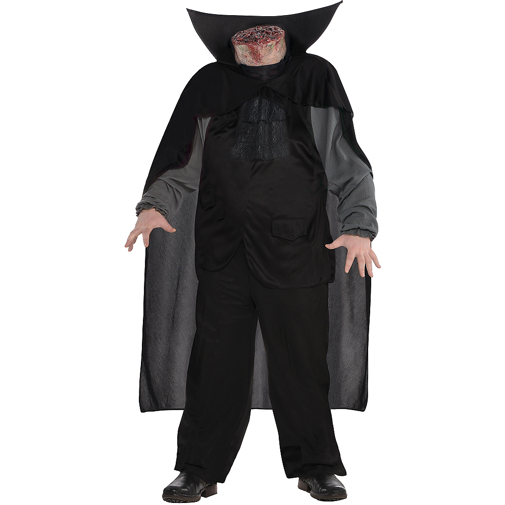 Adult Bloody Headless Horseman Costume Plus Size Image #1