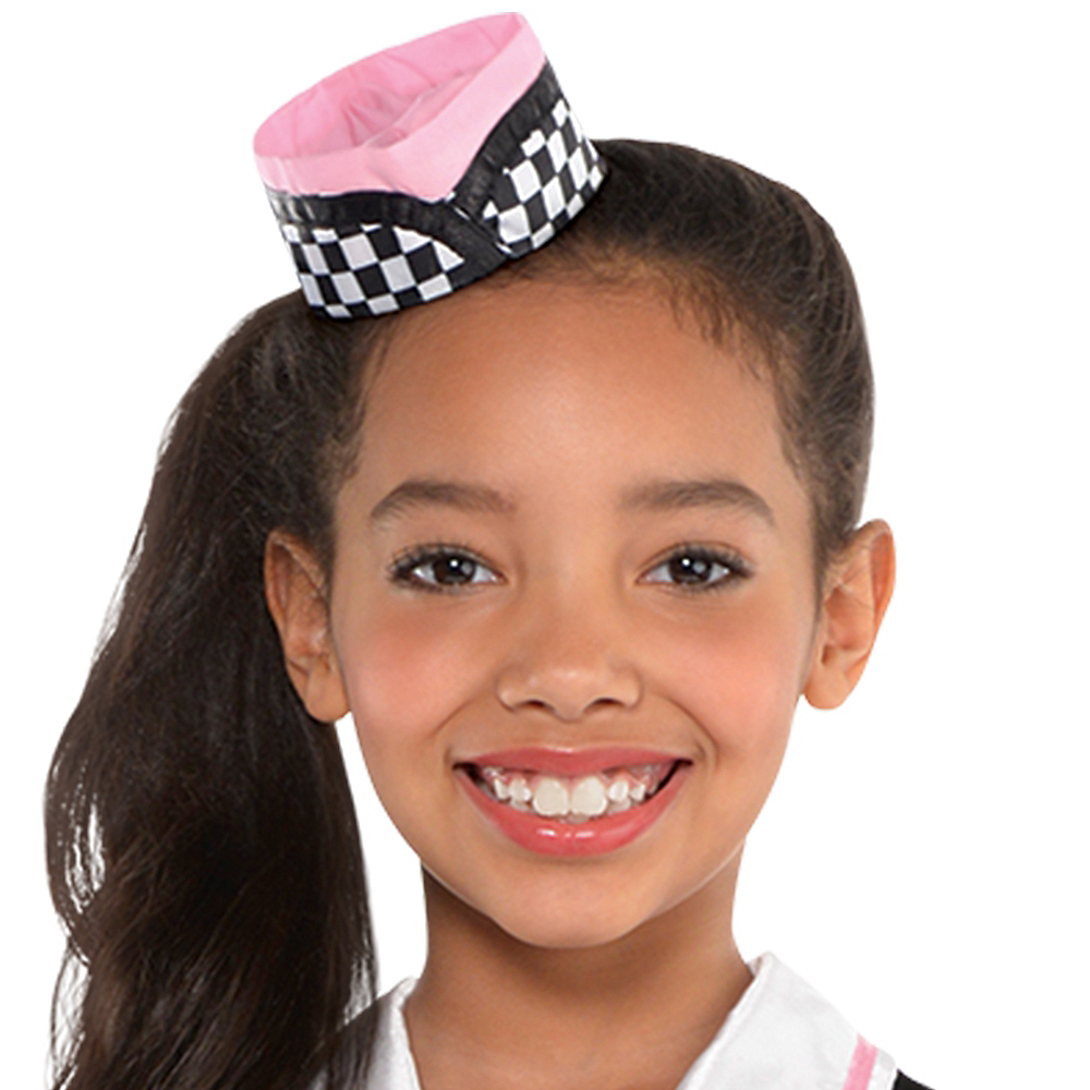 Girls Dinah Girl Waitress Costume Image #2