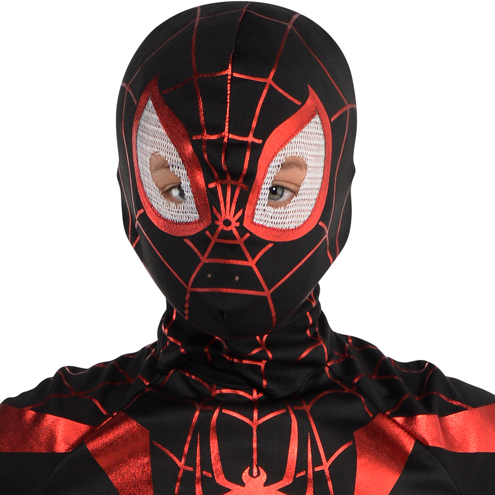 Boys Miles Morales Costume - Spider-Man Image #2