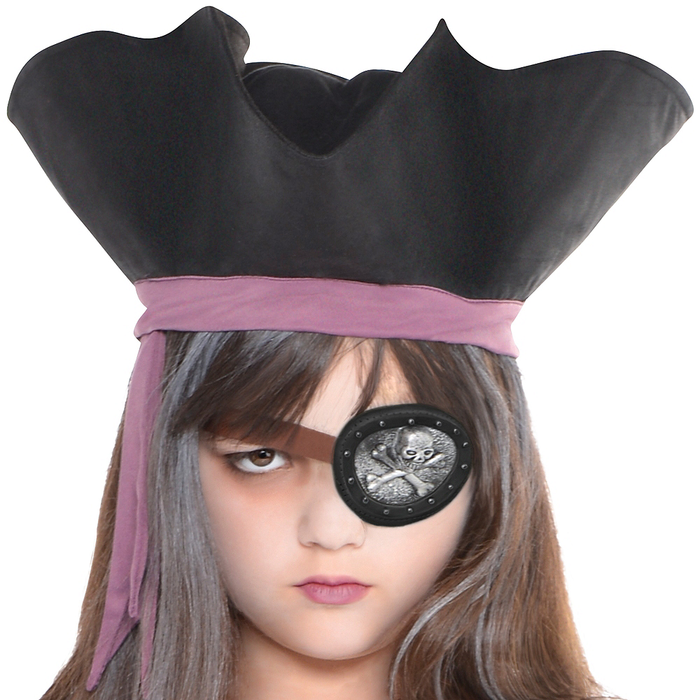 Girls Haunted Pirate Costume Image #2