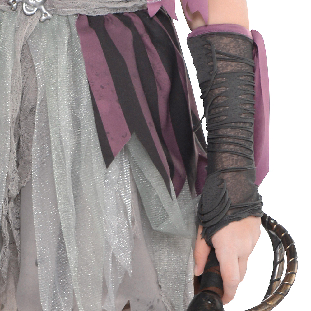 Girls Haunted Pirate Costume Image #3