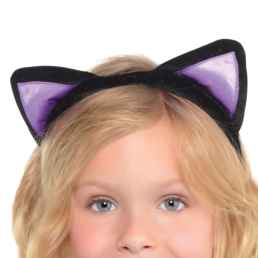 Girls Miss Meow Cat Costume Image #2