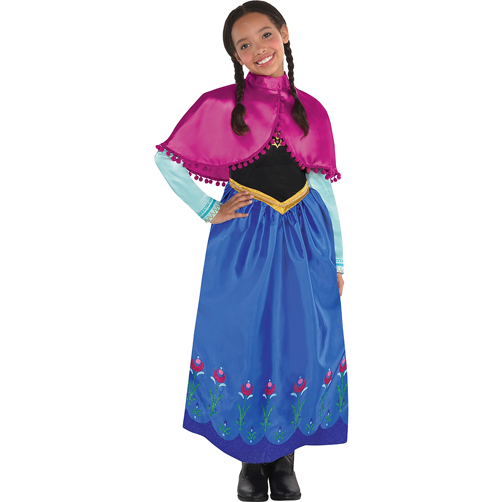 Nav Item for Girls Anna Costume - Frozen Image #1