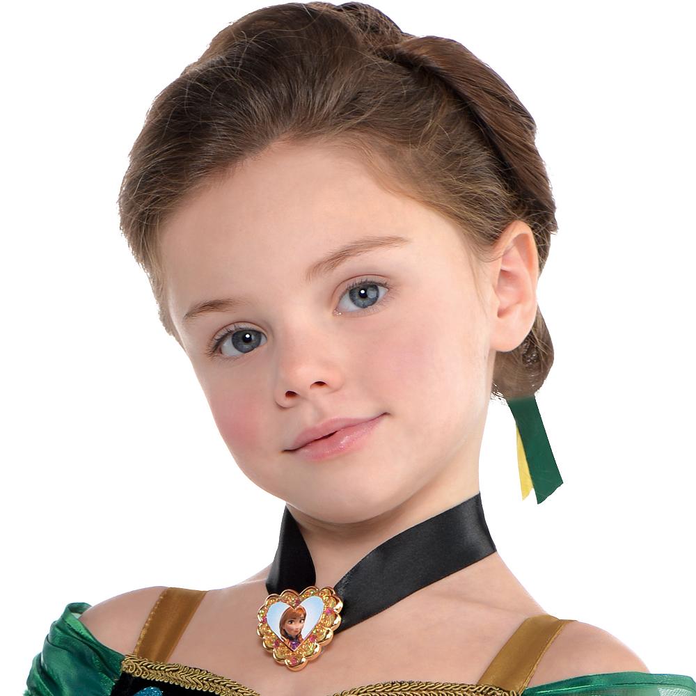 Girls Anna Coronation Costume - Frozen Image #2