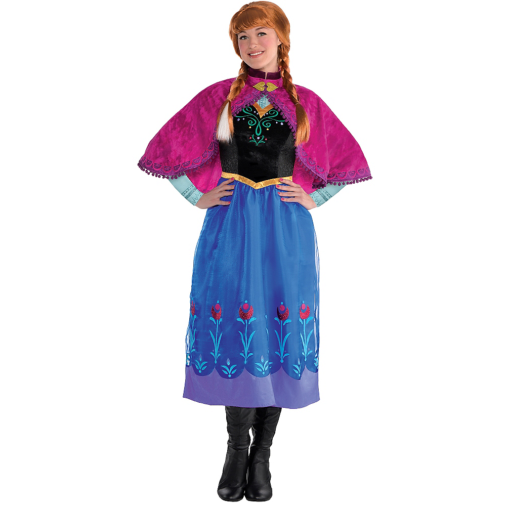 Adult Anna Costume - Frozen Image #1