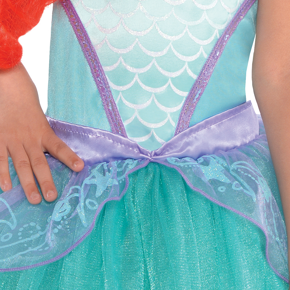 Girls Ariel Costume Premier - The Little Mermaid Image #3