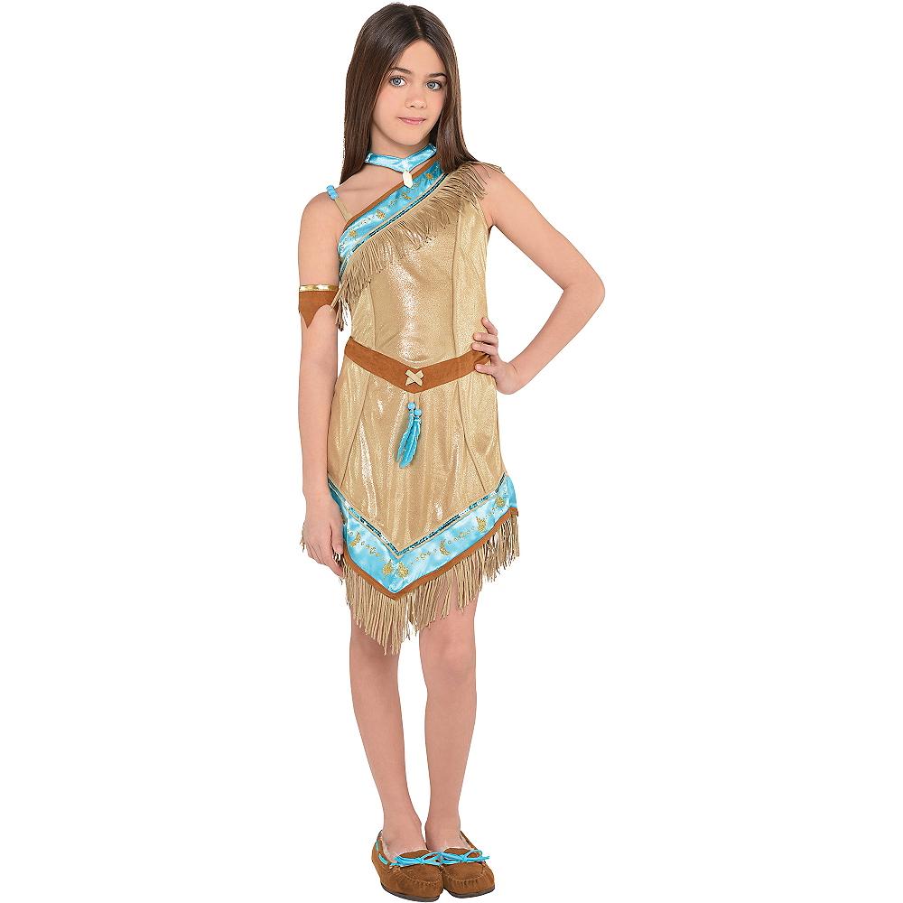 Girls Pocahontas Costume Image #1