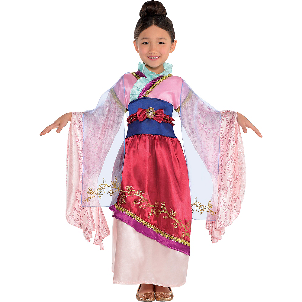 Girls Mulan Costume Classic Party City