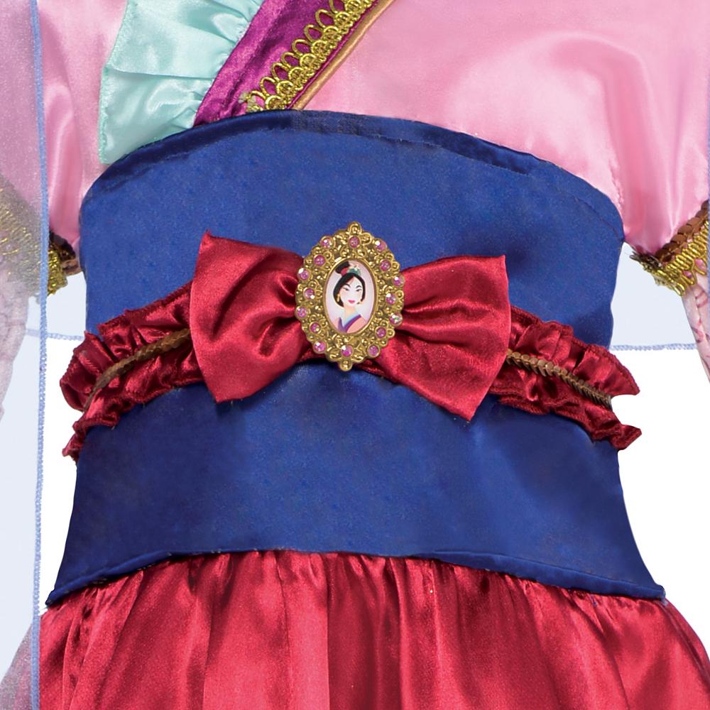 Girls Mulan Costume Classic Image #2
