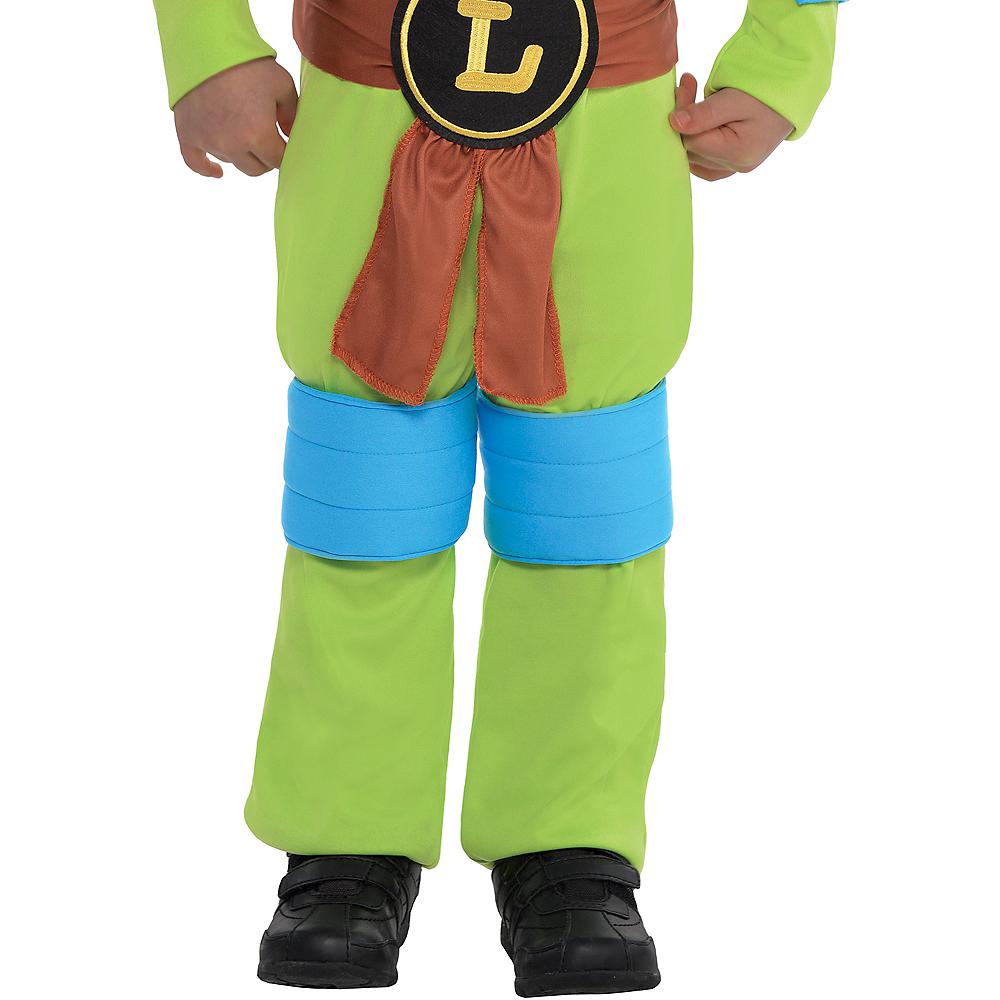 Toddler Boys Leonardo Muscle Costume - Teenage Mutant Ninja Turtles Image #4