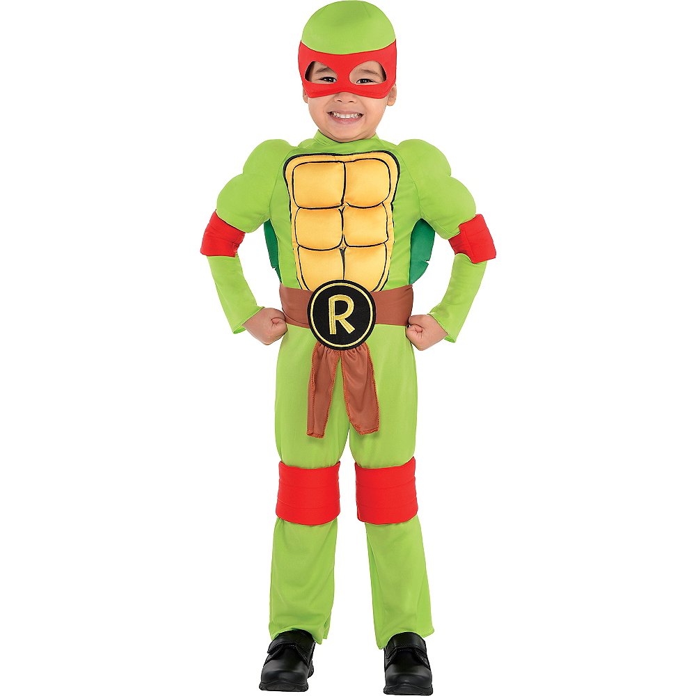 Toddler Boys Raphael Muscle Costume - Teenage Mutant Ninja Turtles ...