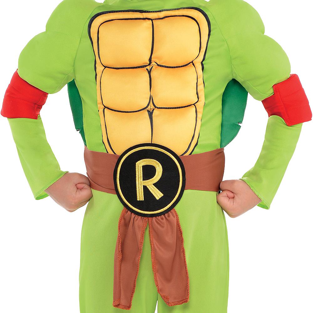 Toddler Boys Raphael Muscle Costume - Teenage Mutant Ninja Turtles Image #3