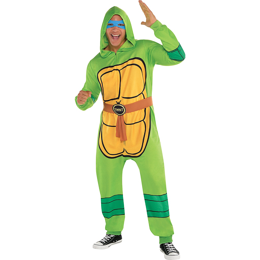 Zipster Teenage Mutant Ninja Turtles One Piece Costume Image #1