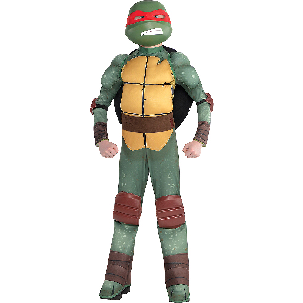 Boys Raphael Muscle Costume - Teenage Mutant Ninja Turtles | Party City