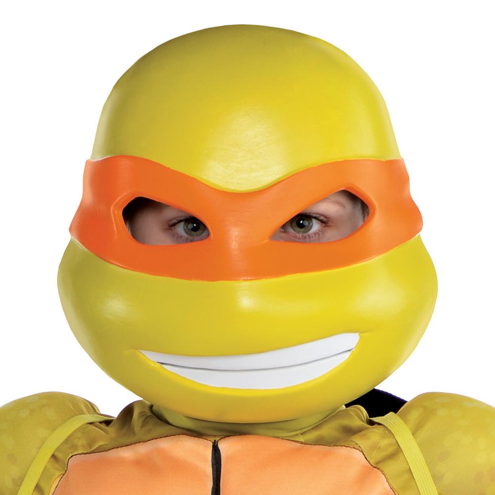 Boys Michelangelo Muscle Costume - Teenage Mutant Ninja Turtles Image #2