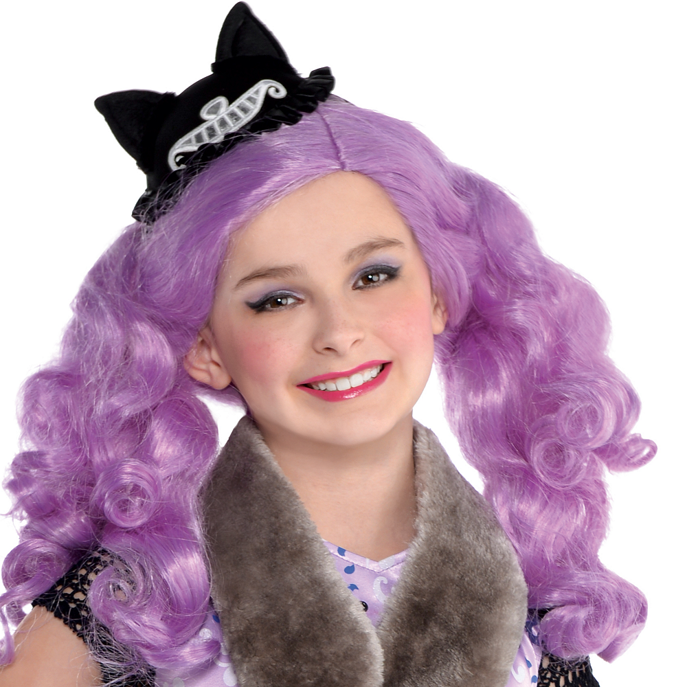 Girls Kitty Cheshire Costume - Ever After High Image #2