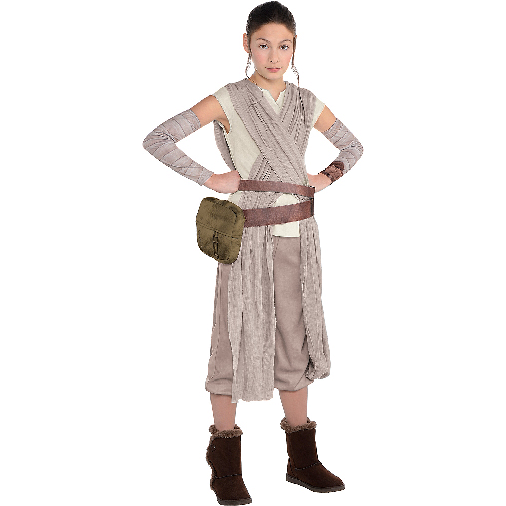 Girls Star Wars 7 The Force Awakens Rey Costume