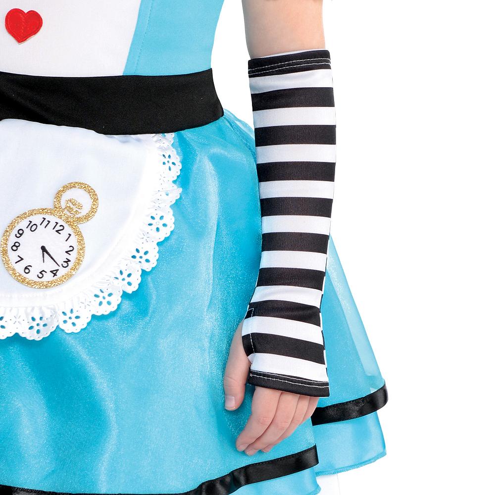 Girls Wonderful Alice Costume Image #4