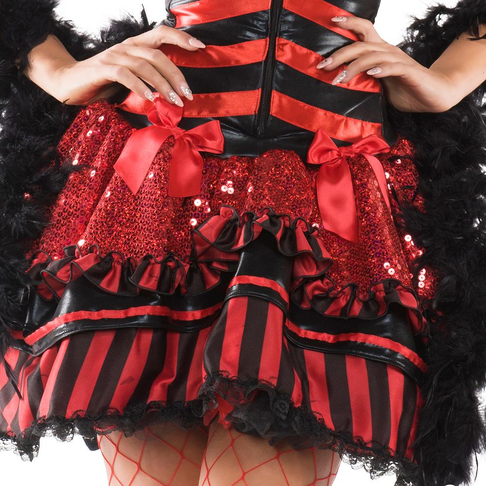 Adult Burlesque Babe Body Shaper Costume Image #2