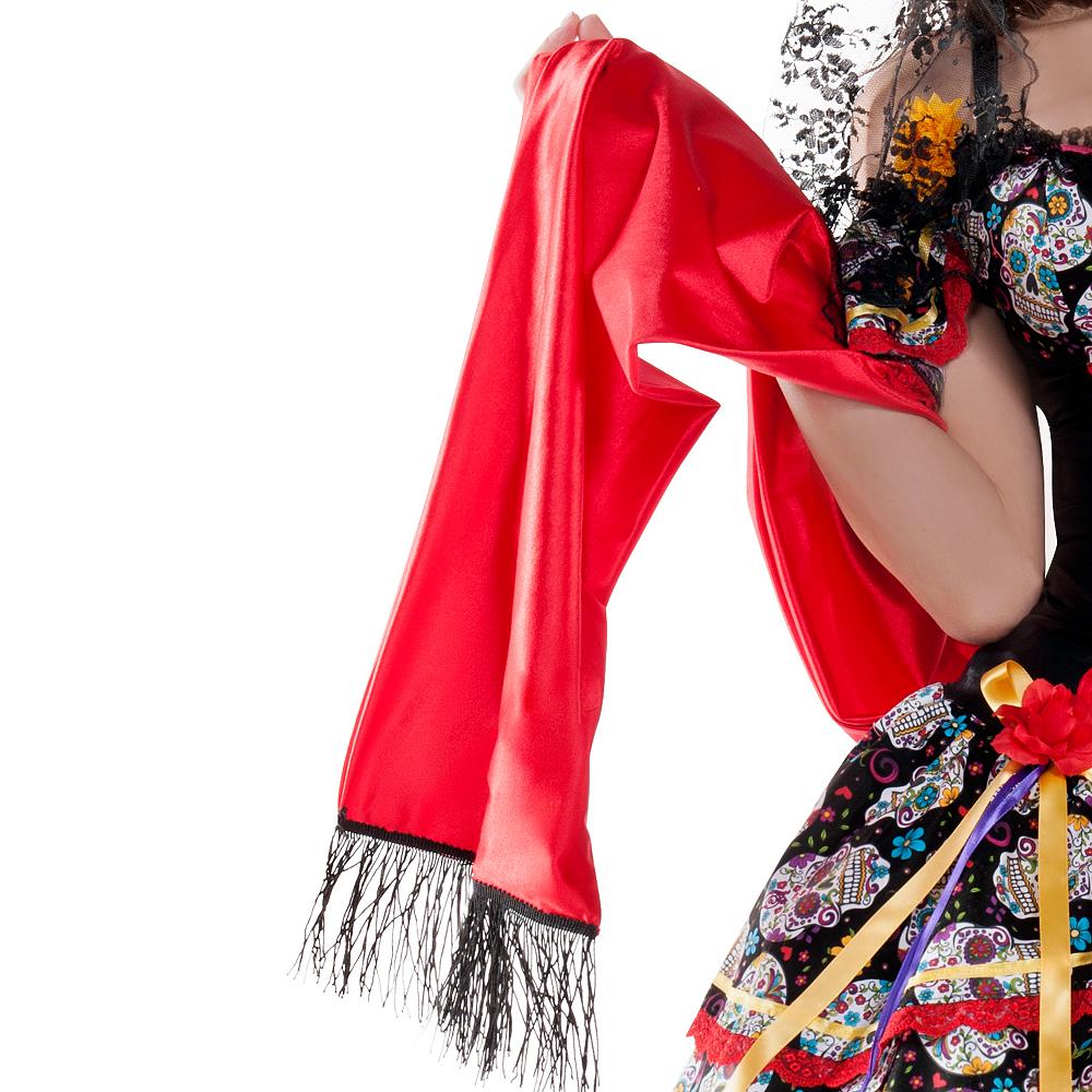 Adult La Catrina Sugar Skull Body Shaper Costume - Day of the Dead Image #3