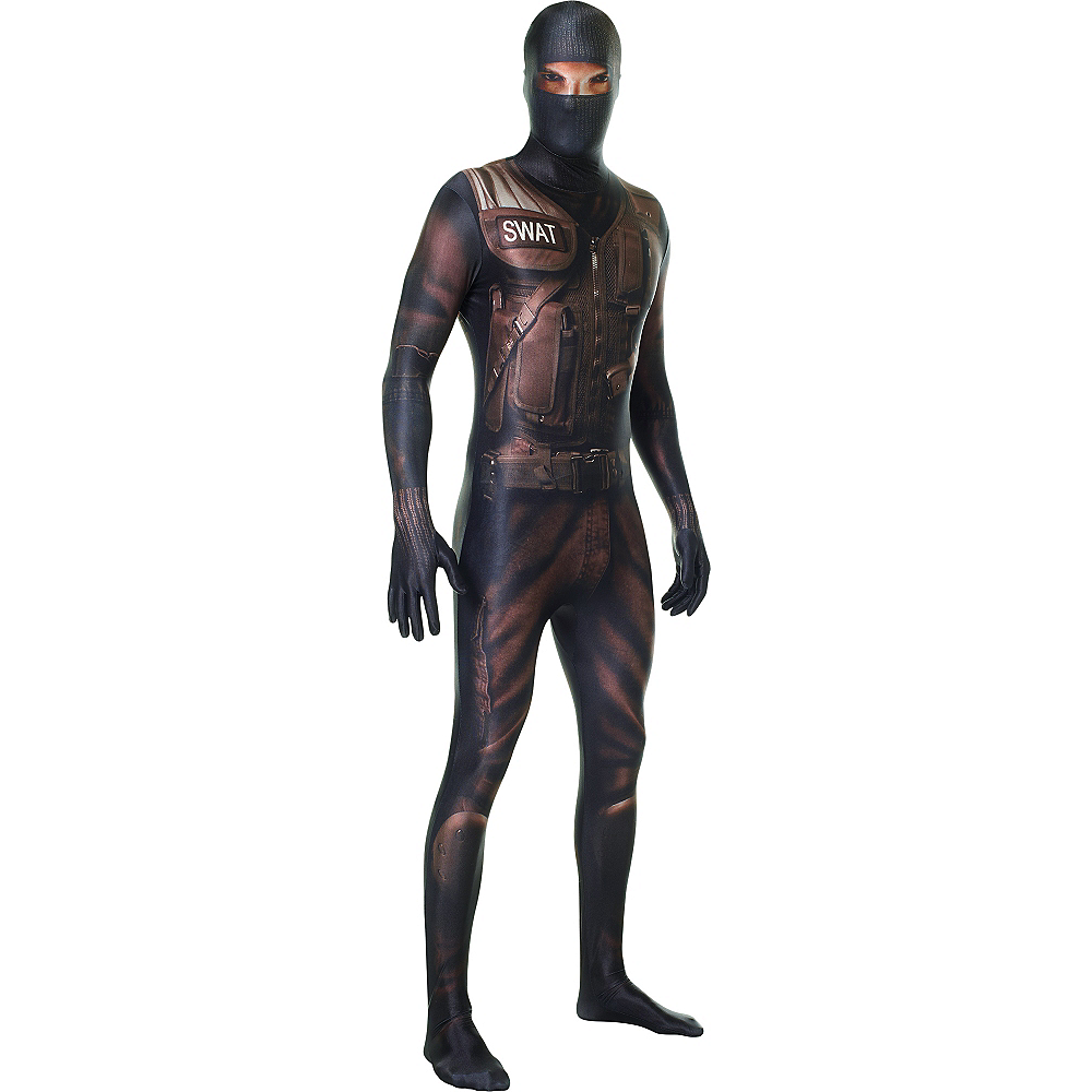 Nav Item for Adult SWAT Morphsuit Image #1
