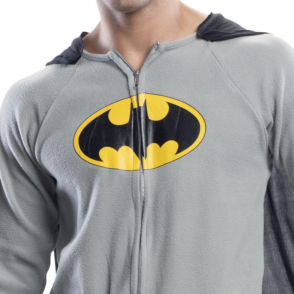Adult Batman Onesie Costume Image #2
