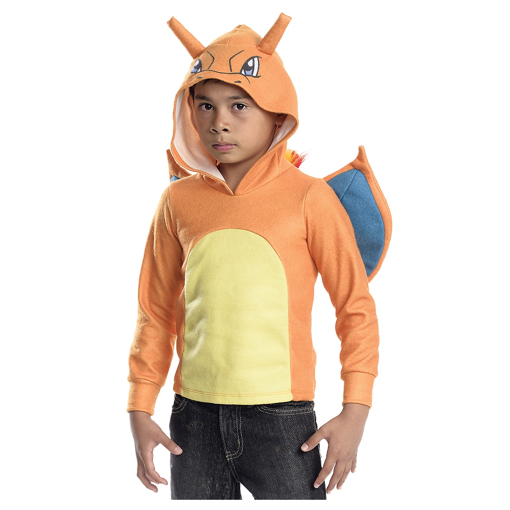 Nav Item for Child Charizard Hoodie - Pokemon Image #1