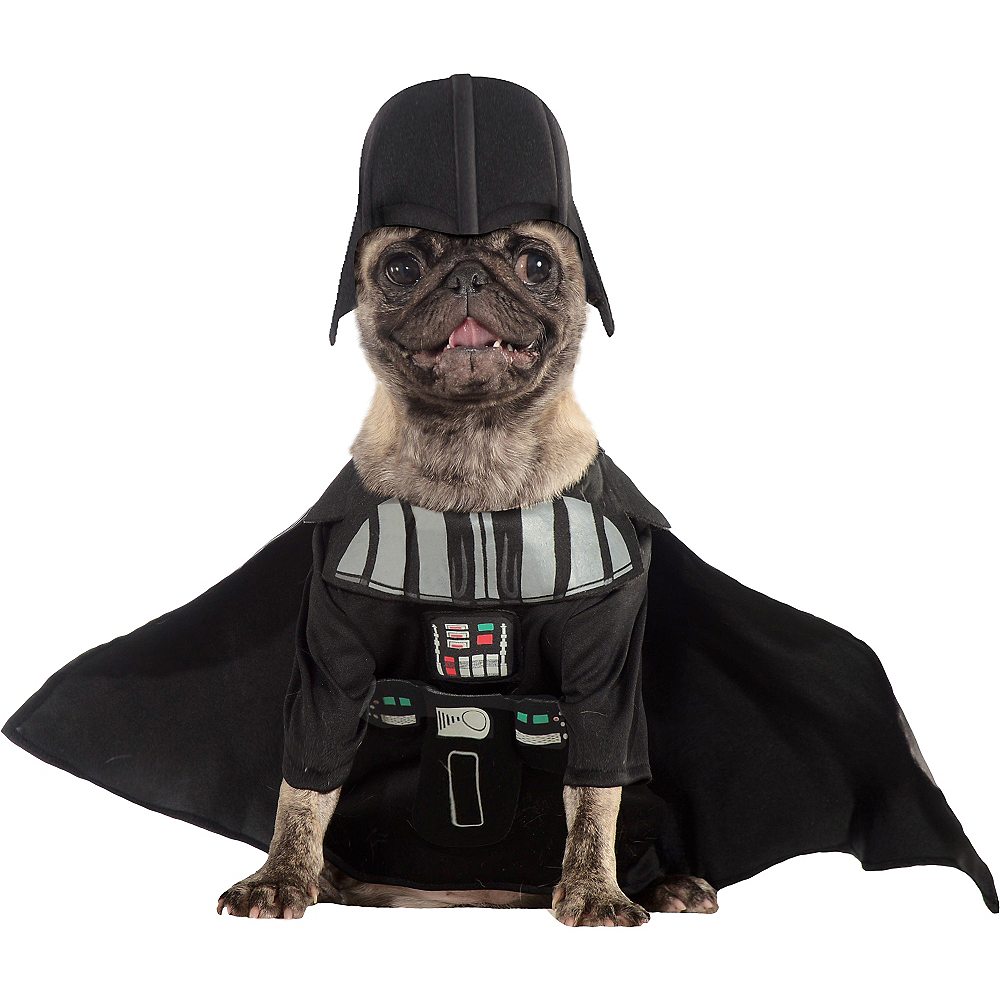 Darth Vader Dog Costume - Star Wars Image #1