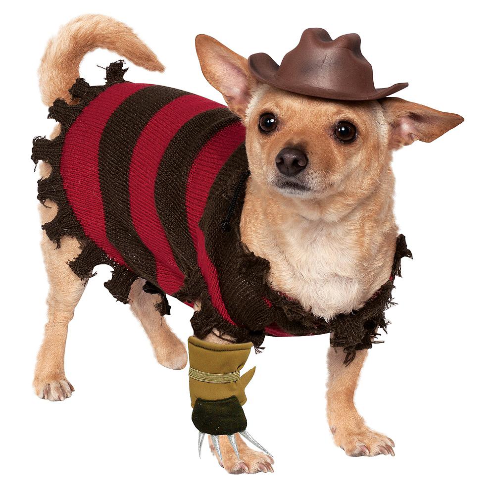 Freddy Krueger Dog Costume - A Nightmare on Elm Street Image #1