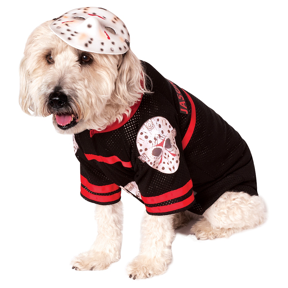 Jason Voorhees Dog Costume - Friday the 13th Image #1