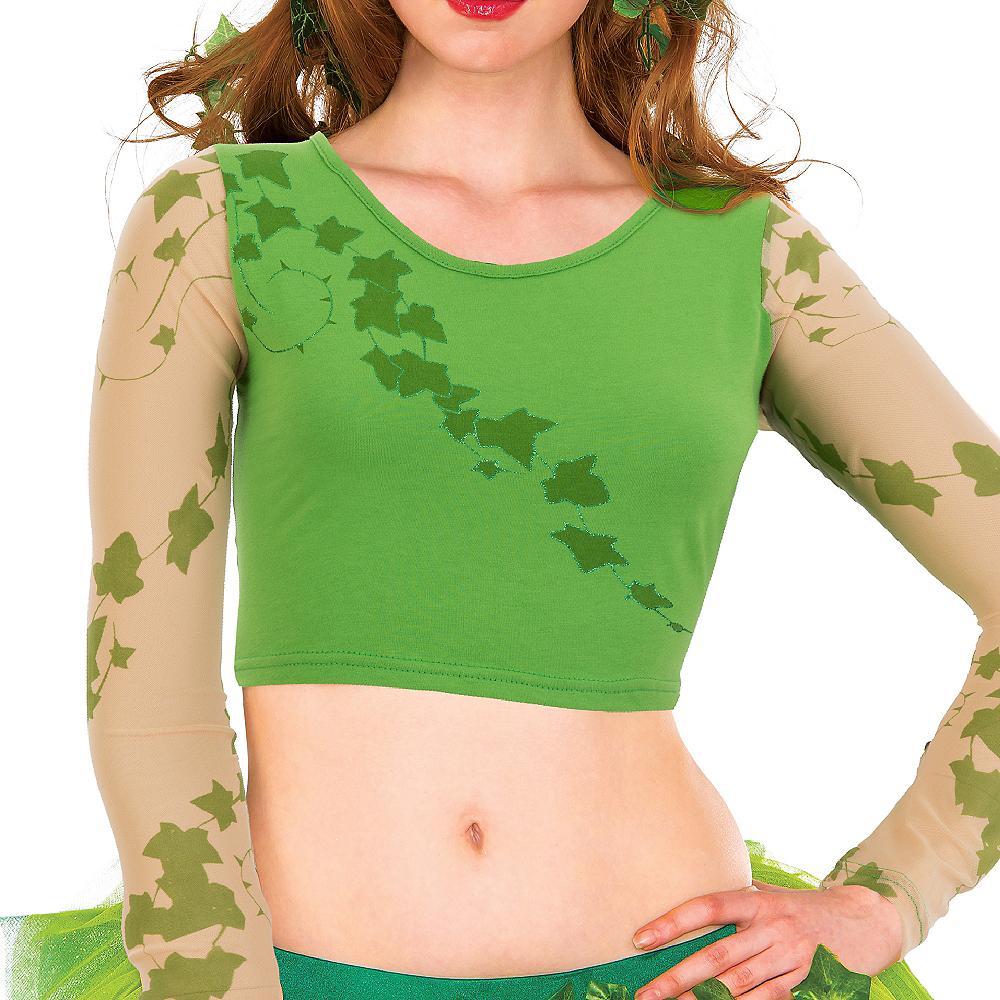 Poison Ivy Crop Top - Batman Image #2